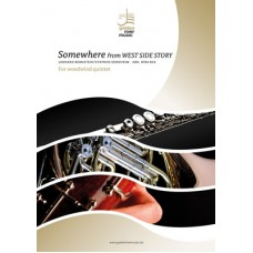 Somewhere (from West Side Story) - woodwind quintet