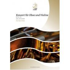 Konzert für Oboe und Violine BWV 1060 - part I - sax choir