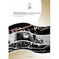 My Heart will go on - clarinet quartet (not available in USA, Canada and Japan) (-10%)