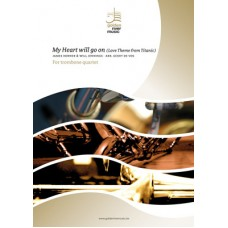 My Heart will go on - trombone quartet (not available in USA, Canada and Japan)