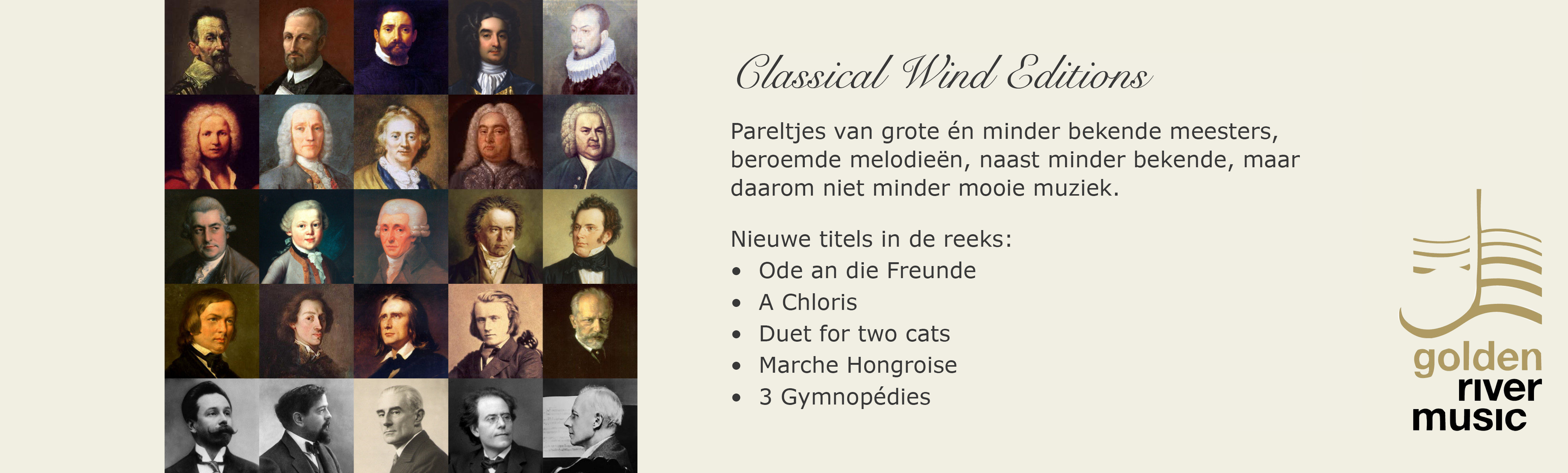 Banner Classical Wind Editions