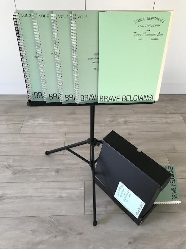 Promofoto Box Brave Belgians