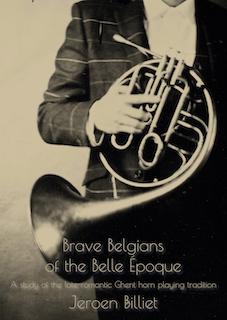 Cover boek Brave Belgians doctoraat voorkant
